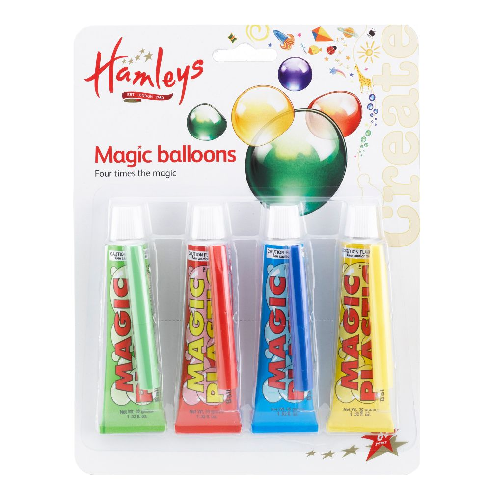 hamleys magic plastic fourpack